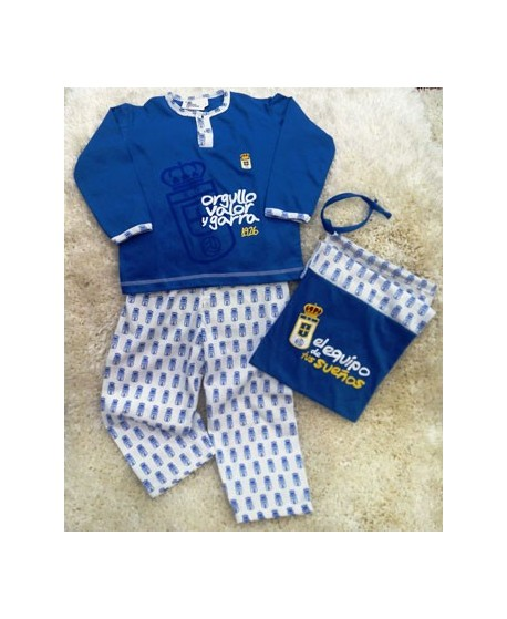 REAL OVIEDO PIJAMA ADULTO
