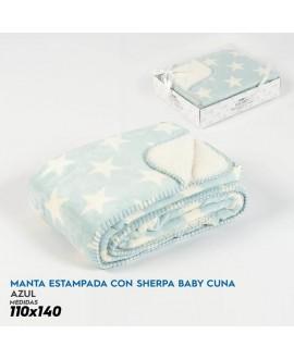 MANTA DE CUNA SM SHERPA-BABY