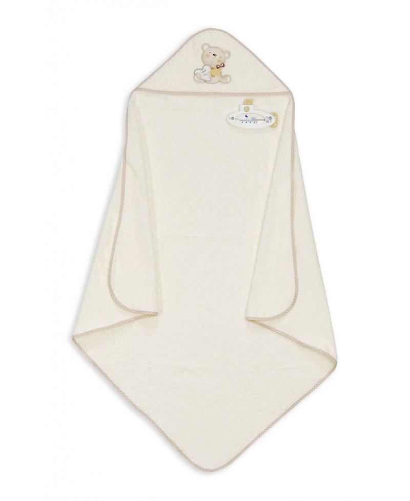 Interbaby Love 1 x 1 m color beige Capa de ba/ño