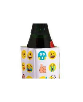 Funda enfriadora botella emoticono