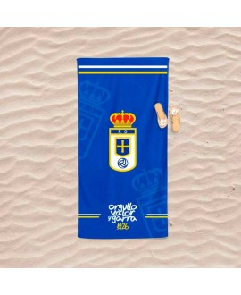 Toalla de playa Real Oviedo