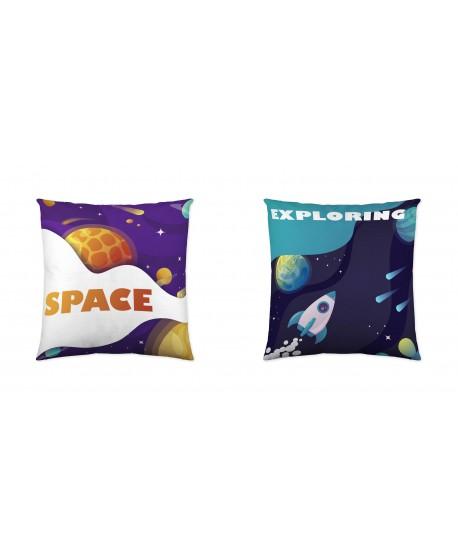 FUNDA DE COJÍN SPACE EXPLORING